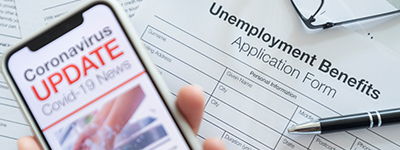 Unemployment benefits fraud
